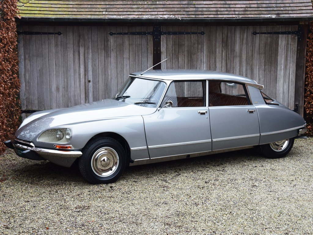 1974 Nut-and-bolt restored Citroën DS23 i.e. Pallas (5-sp.manual) For Sale (picture 1 of 6)