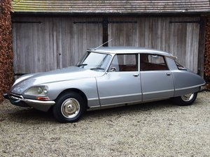 1974 Nut-and-bolt restored Citroën DS23 i.e. Pallas (5-sp.manual)