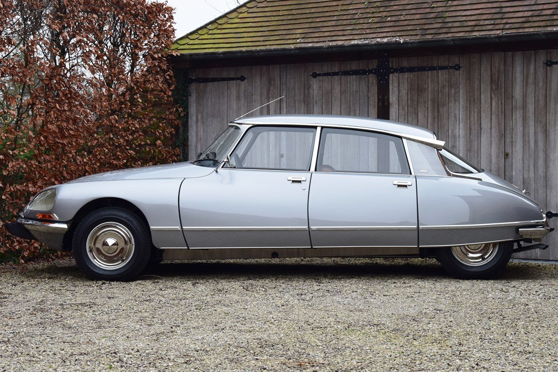1974 Nut-and-bolt restored Citroën DS23 i.e. Pallas (5-sp.manual) For Sale (picture 2 of 6)