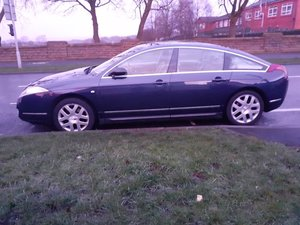 CITROEN C6 2.7 HDI EXCLUSIVE,BLUE WITH BEIGE INTERIOR
