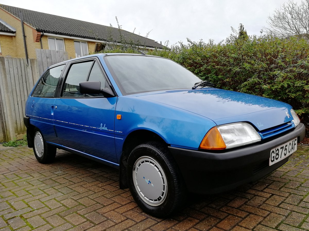 1990 1989 Citroen AX 1.1 Salsa  For Sale (picture 1 of 6)