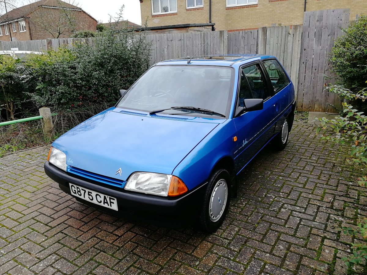 1990 1989 Citroen AX 1.1 Salsa  For Sale (picture 2 of 6)