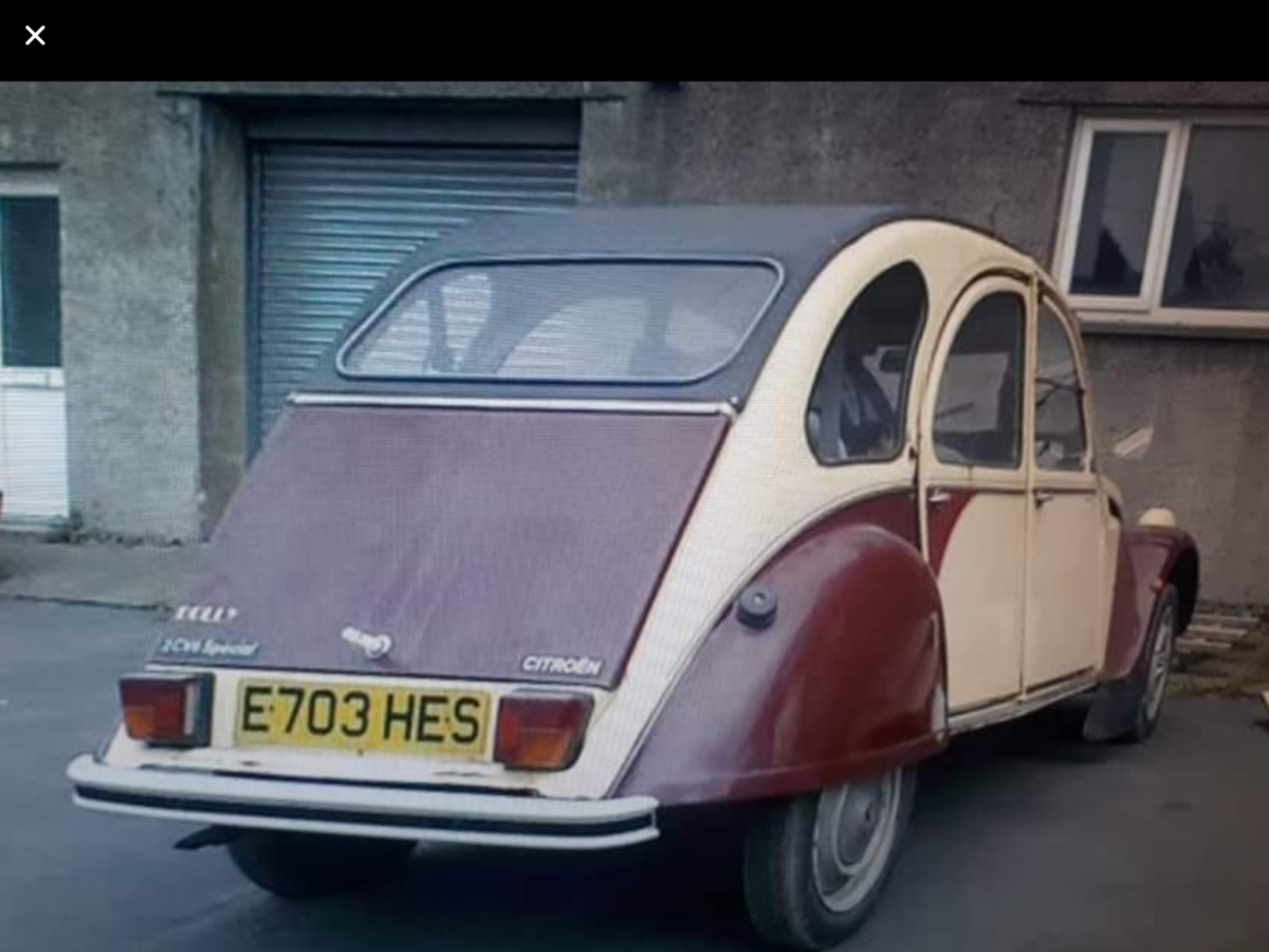 1987 Citron 2Cv that has appeared on TV SOLD (picture 1 of 6)
