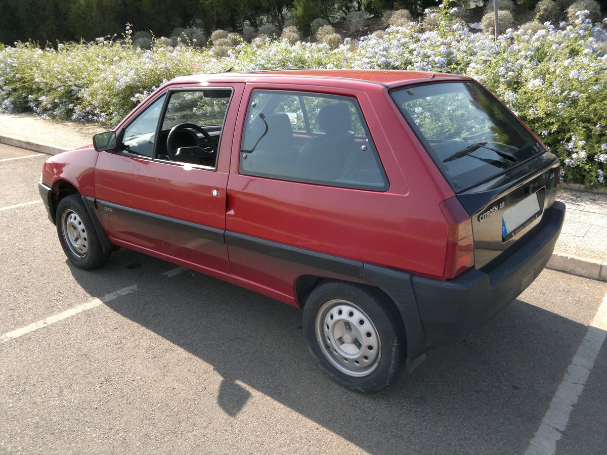 1992 Citroen AX Piste Rouge 4X4 For Sale (picture 1 of 6)