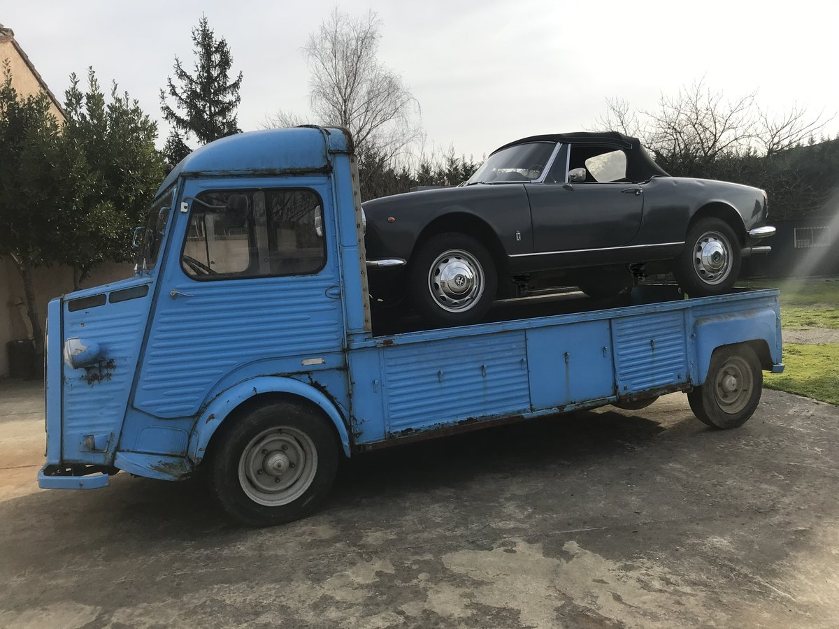 1980 citroen h hy pickup long For Sale (picture 1 of 6)