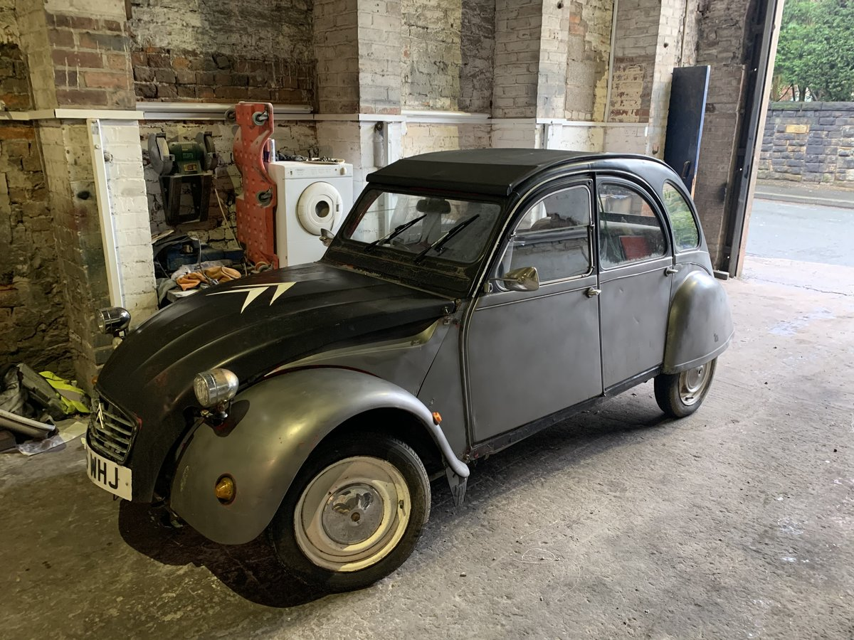 1984 Citroen 2cv,3 owners,galvanised chassis,rewir For Sale (picture 1 of 2)