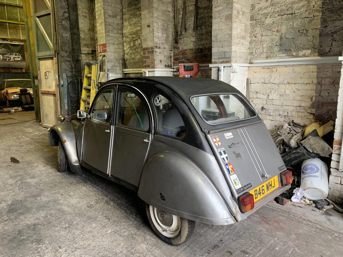 1984 Citroen 2cv,3 owners,galvanised chassis,rewir For Sale (picture 2 of 2)