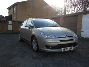 2007 Citreon C4 1.6i-16V SX Auto 5DR 12 Month Mot + S/H SOLD