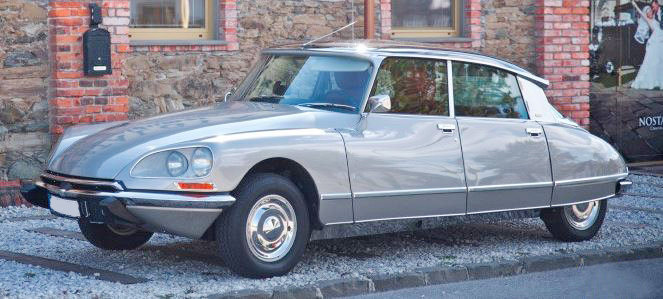 1974 Citroen DS 23 Pallas half-automated
