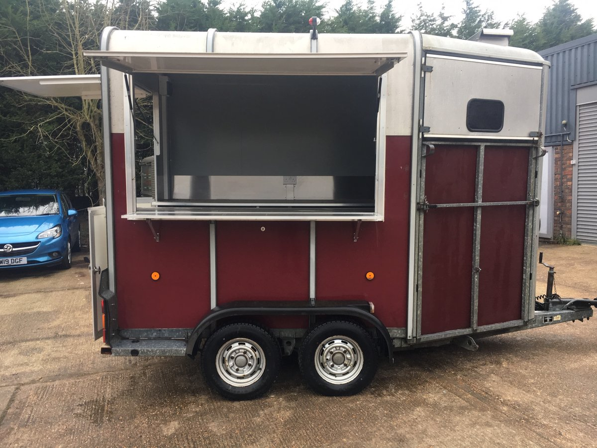 NEWLY BUILT Catering trailer - FULLY FITTED OUT For Sale (picture 1 of 6)