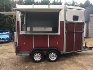 Newly built catering trailer