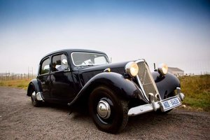1955 Citroen Light 15, Traction Avant (Slough)