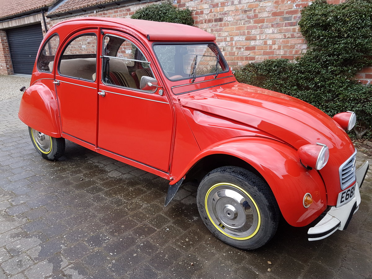 1987 Rebuit 2CV For Sale (picture 1 of 4)