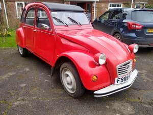 1989 Citroen 2CV6 Special - 31,000 miles for auction 17th July. For Sale by Auction