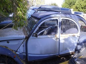 Picture of 1987 1988 2cv restoration project SOLD