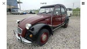 1989 Citroen 2CV Charleston LHD 54231 KMS!!