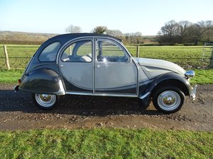 1984 Original Citroen 2CV Charleston in outstanding condition. SOLD