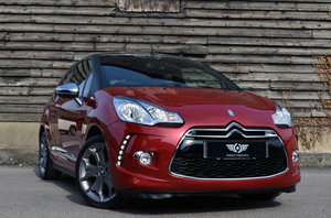 2013 Citroen DS3 DS3 1.6 THP 155 D Sport Plus Cabrio FSH+Leather