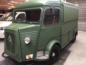 Citroen Hy Van Petrol 1978 Fully restored with service hatch