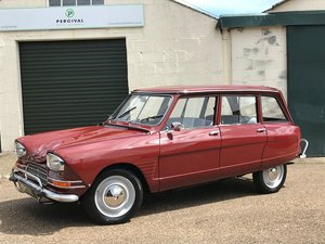 Citroen Ami 6 Estate, restored, SOLD