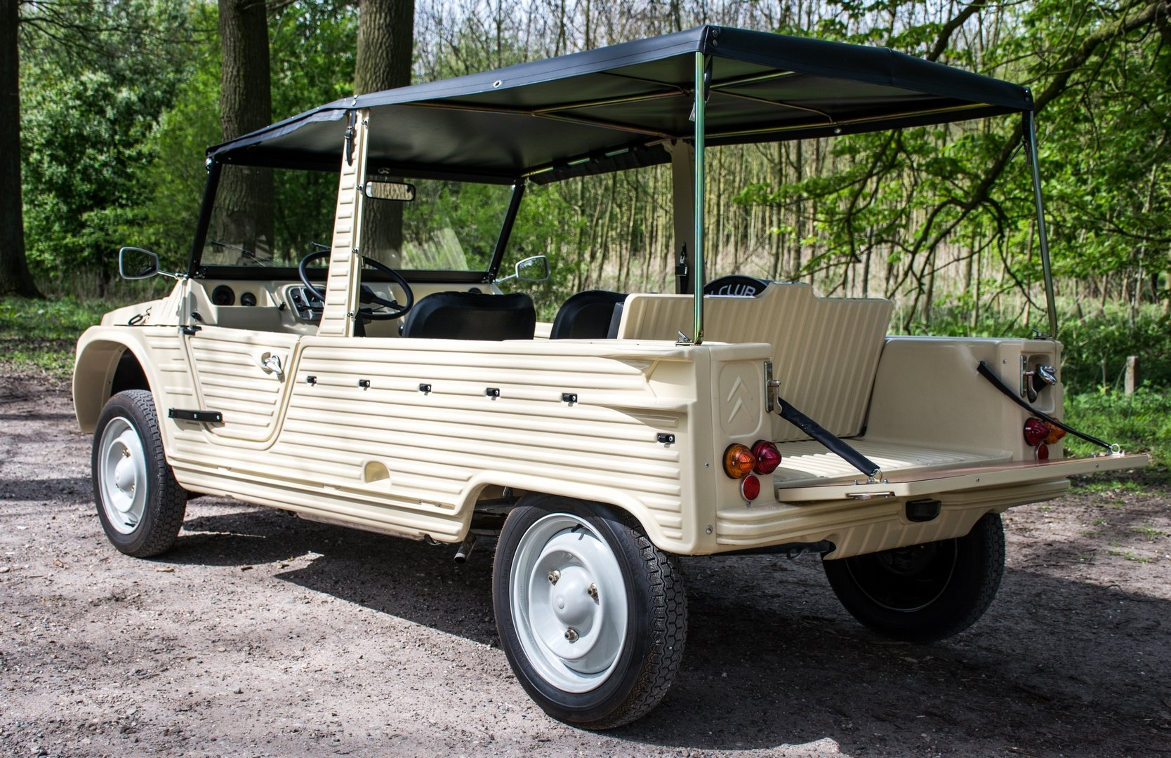 1972 New Mehari Beige Hoggar 600km 4 pers.  For Sale (picture 6 of 6)