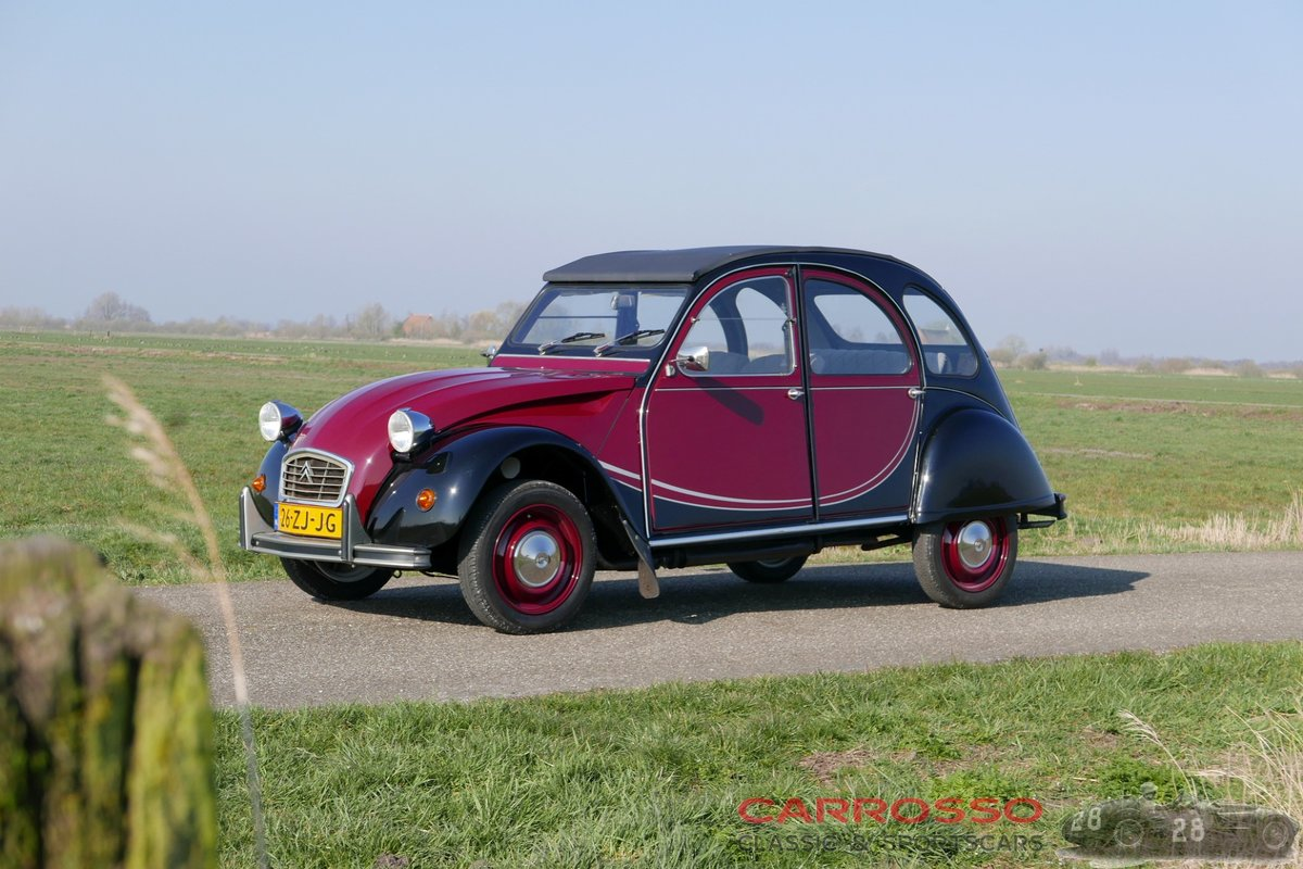 1989 Citroën 2CV Charleston neat car and very popular version! For Sale (picture 1 of 6)