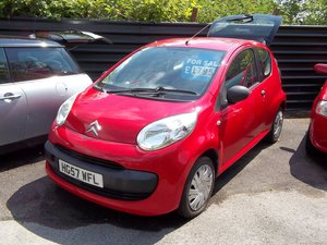 2008 2007 Citroen C1 Vibe 998cc For Sale