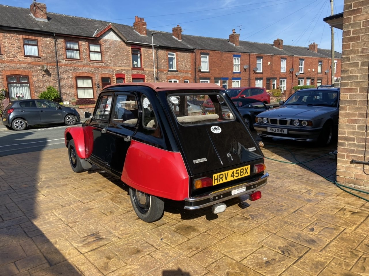 1982 Citroen Dyane Black/Red SOLD (picture 2 of 6)