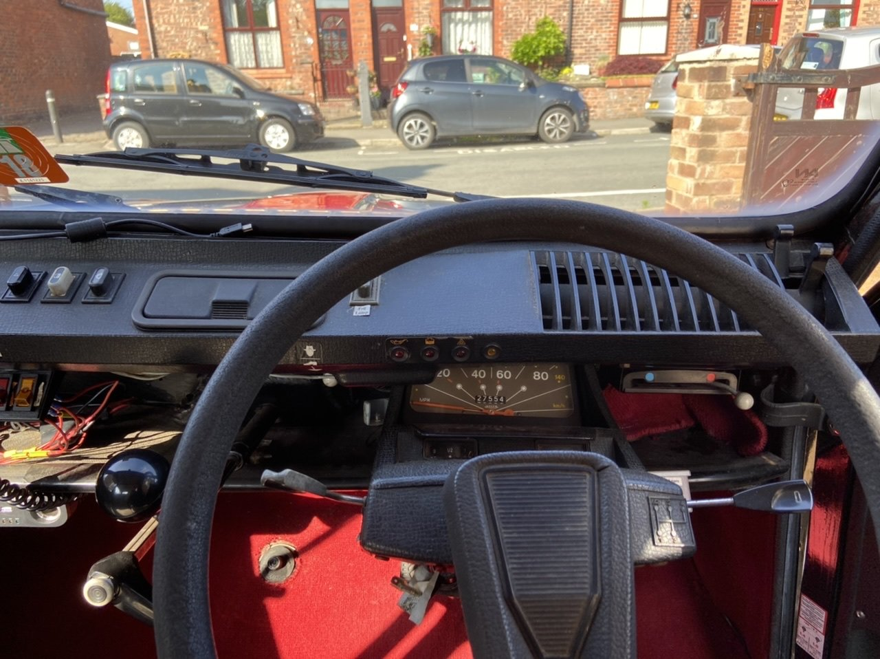 1982 Citroen Dyane Black/Red SOLD (picture 5 of 6)