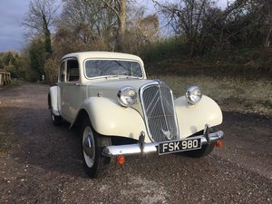 1950 Citroen Light 15 - Slough Built RHD  For Sale