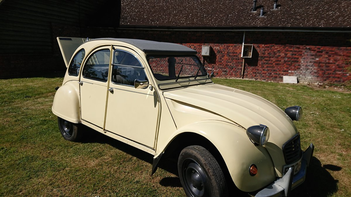 1984 CITROEN 2 CV6 SPECIAL  For Sale (picture 3 of 6)