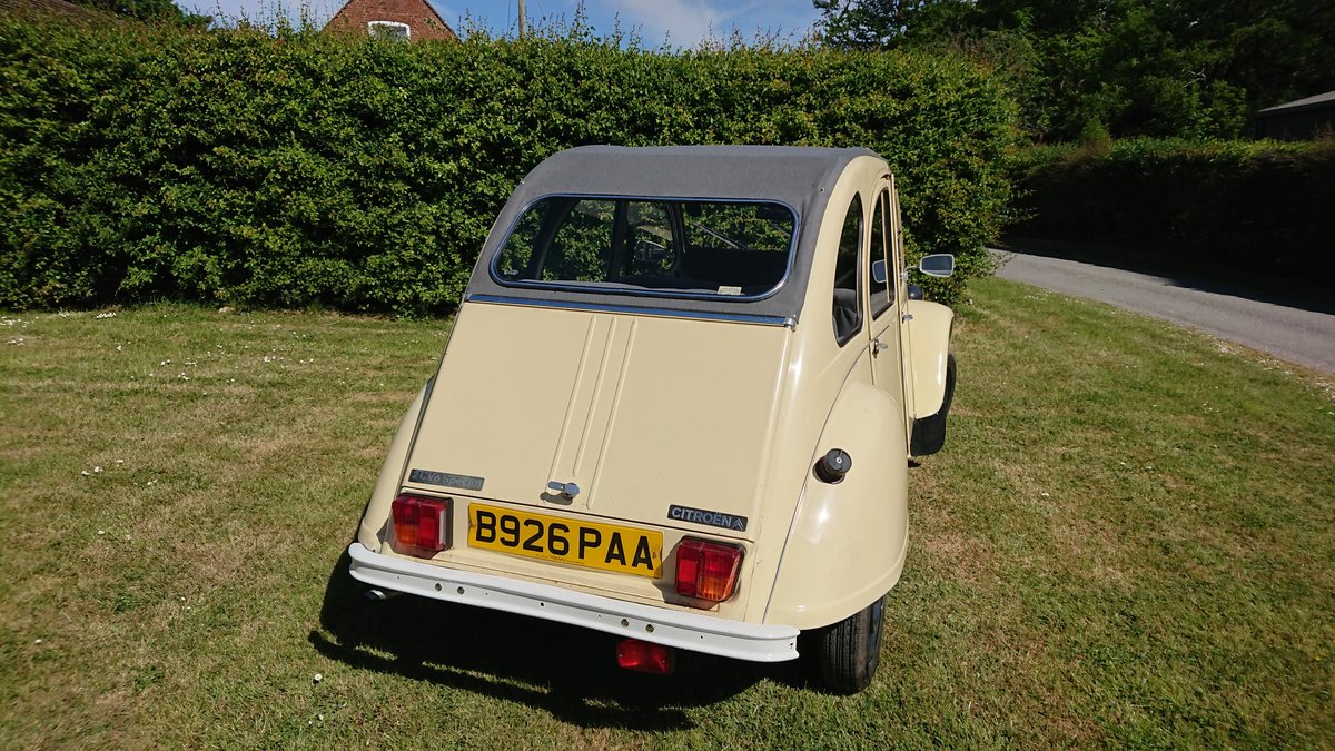 1984 CITROEN 2 CV6 SPECIAL  For Sale (picture 4 of 6)