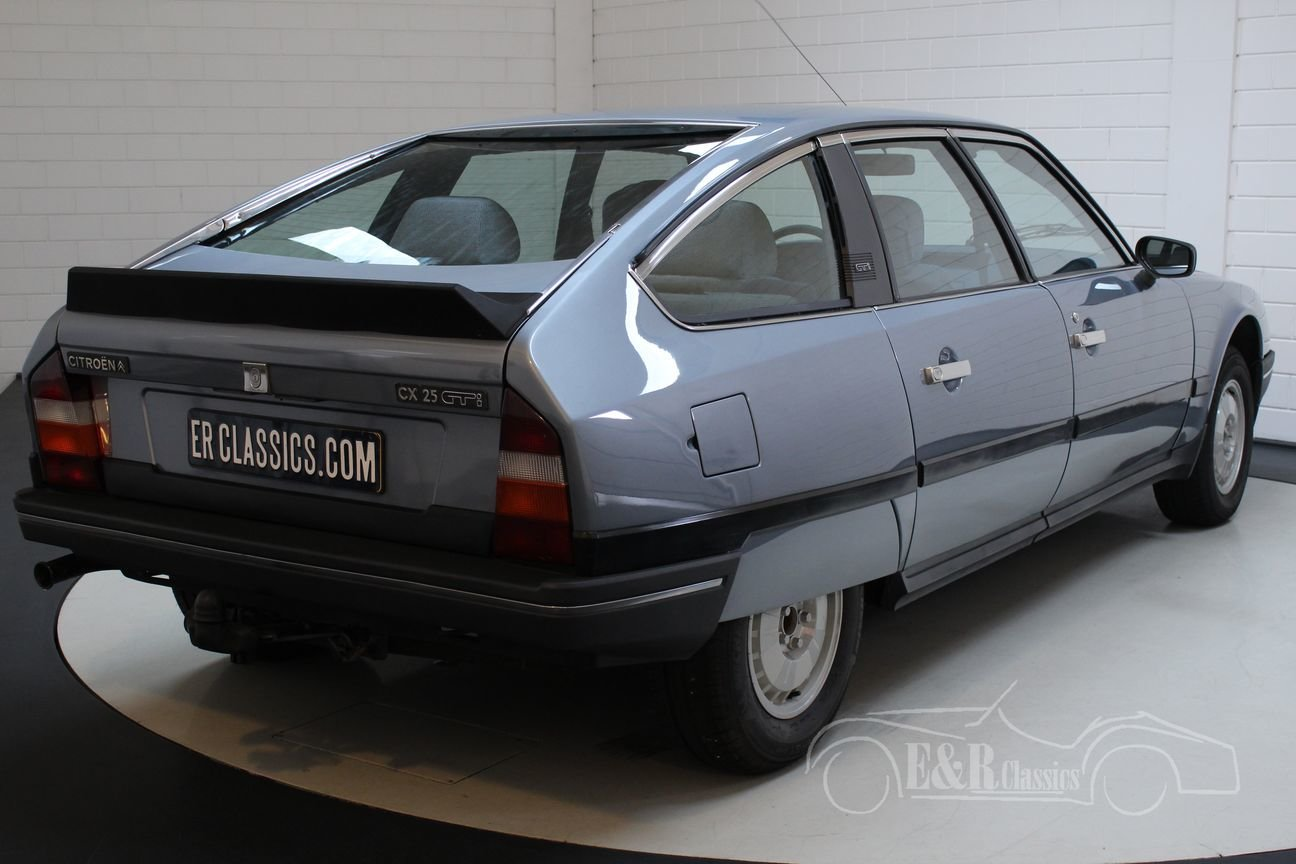 Citroën CX25 GTI 1986 Very nice condition For Sale (picture 6 of 6)