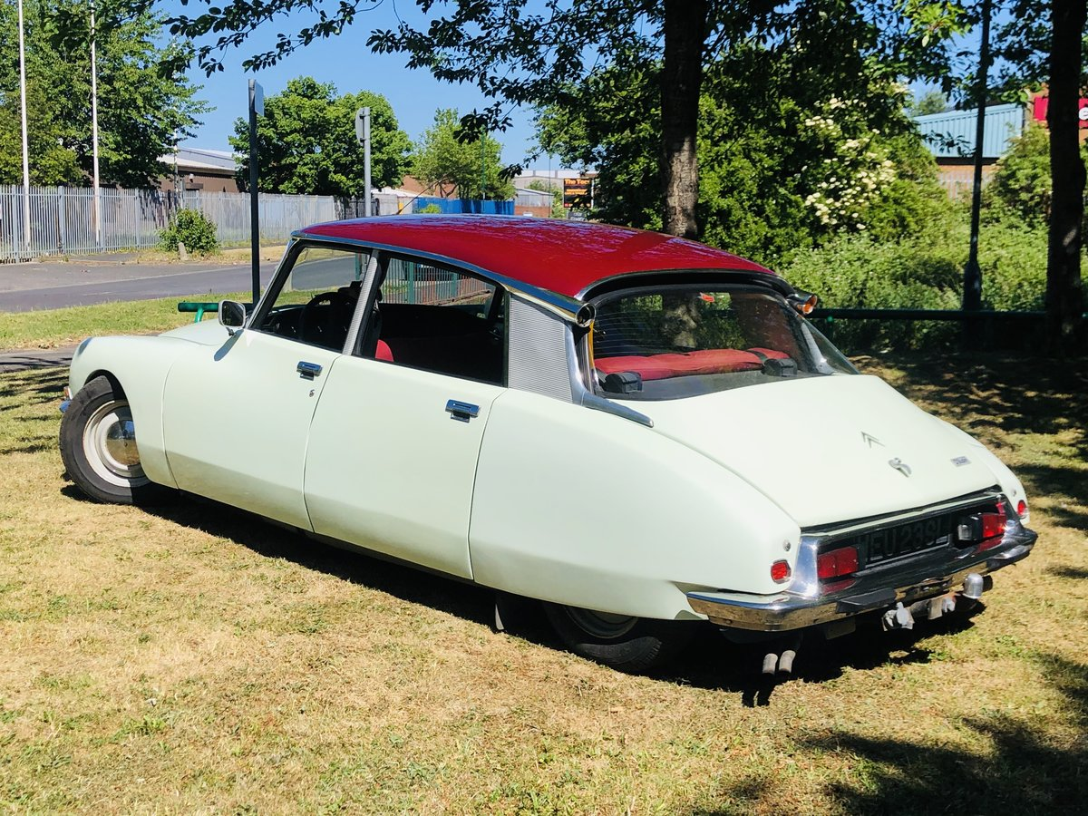 1973 1972 CITROEN DS 21 D SUPER - LOVELY GENUINE CAR SOLD (picture 2 of 6)