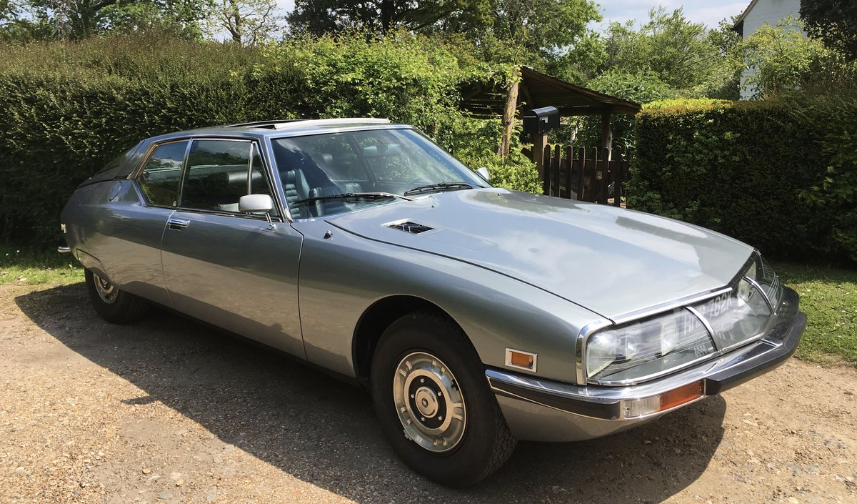 1972 Citroën SM 2.7 Carb manual For Sale (picture 1 of 6)