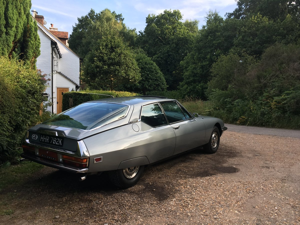 1972 Citroën SM 2.7 Carb manual For Sale (picture 6 of 6)