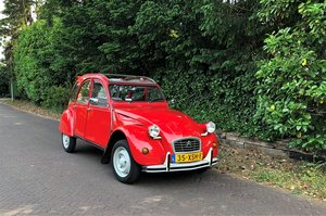 1989 2CV6 Club full history from new with owner manual