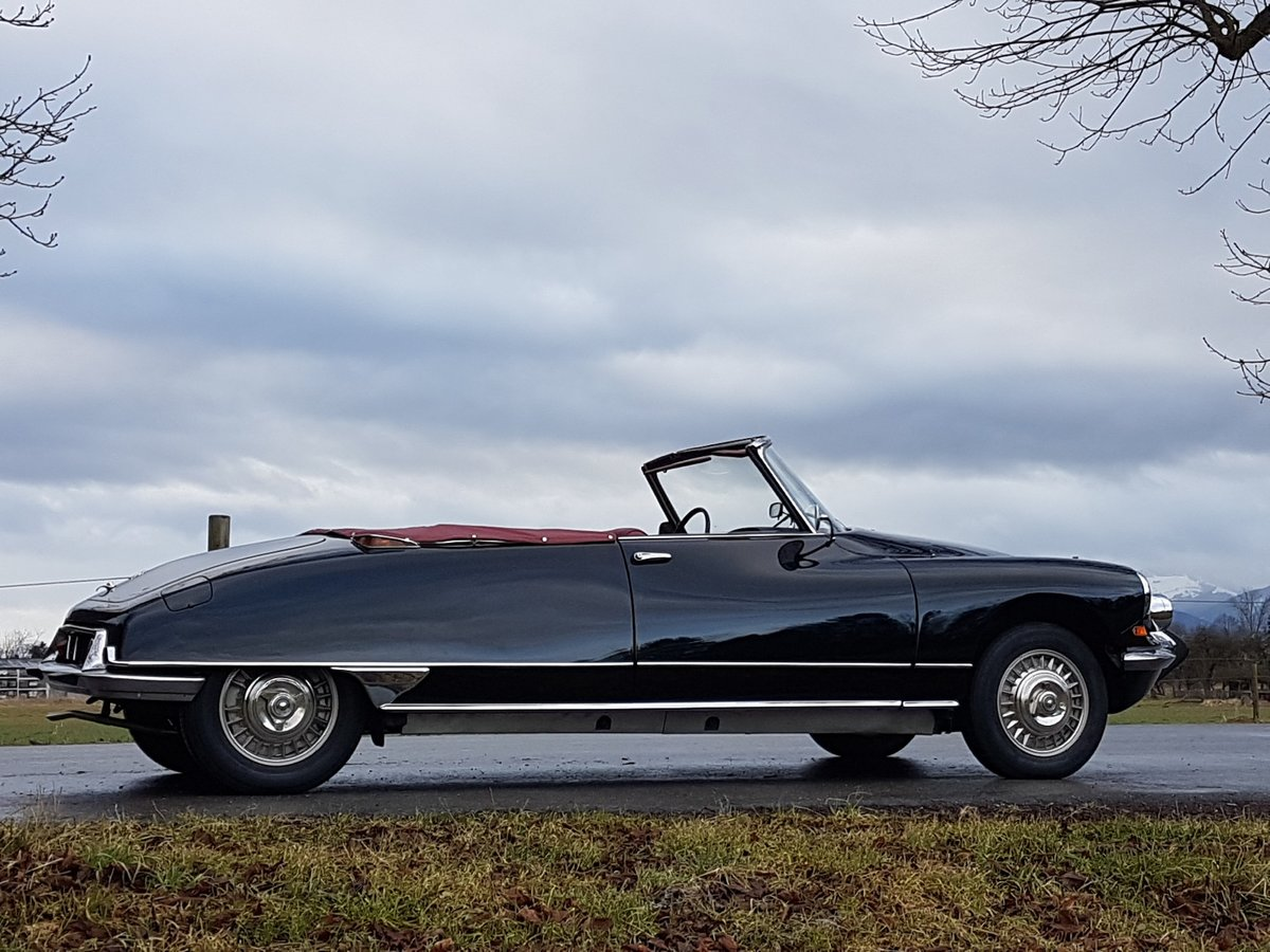1964 Citroen DS 19 Usine, works-cabriolet, fully restored For Sale (picture 1 of 6)