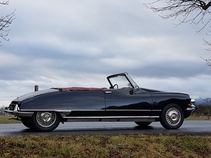 Citroen DS 19 Usine, works-cabriolet, fully restored