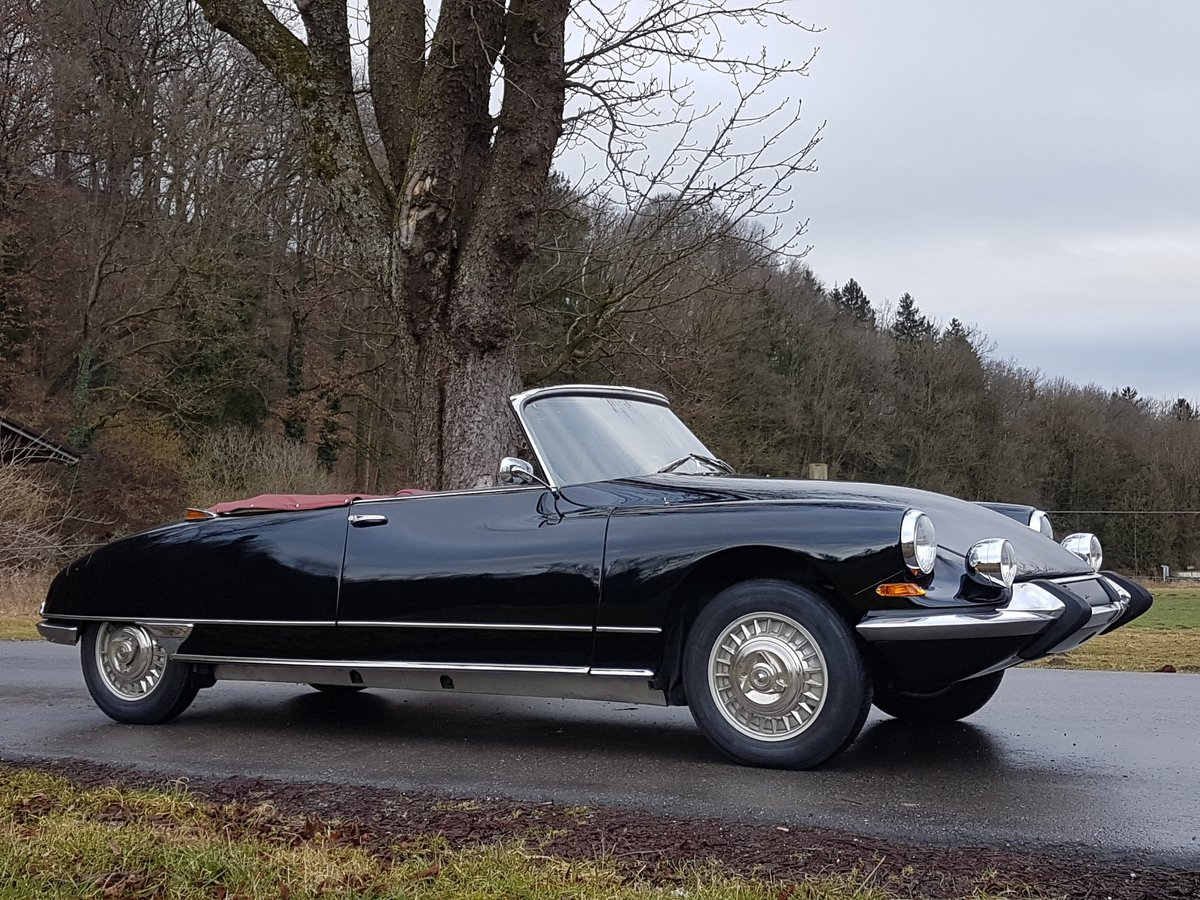 1964 Citroen DS 19 Usine, works-cabriolet, fully restored For Sale (picture 4 of 6)