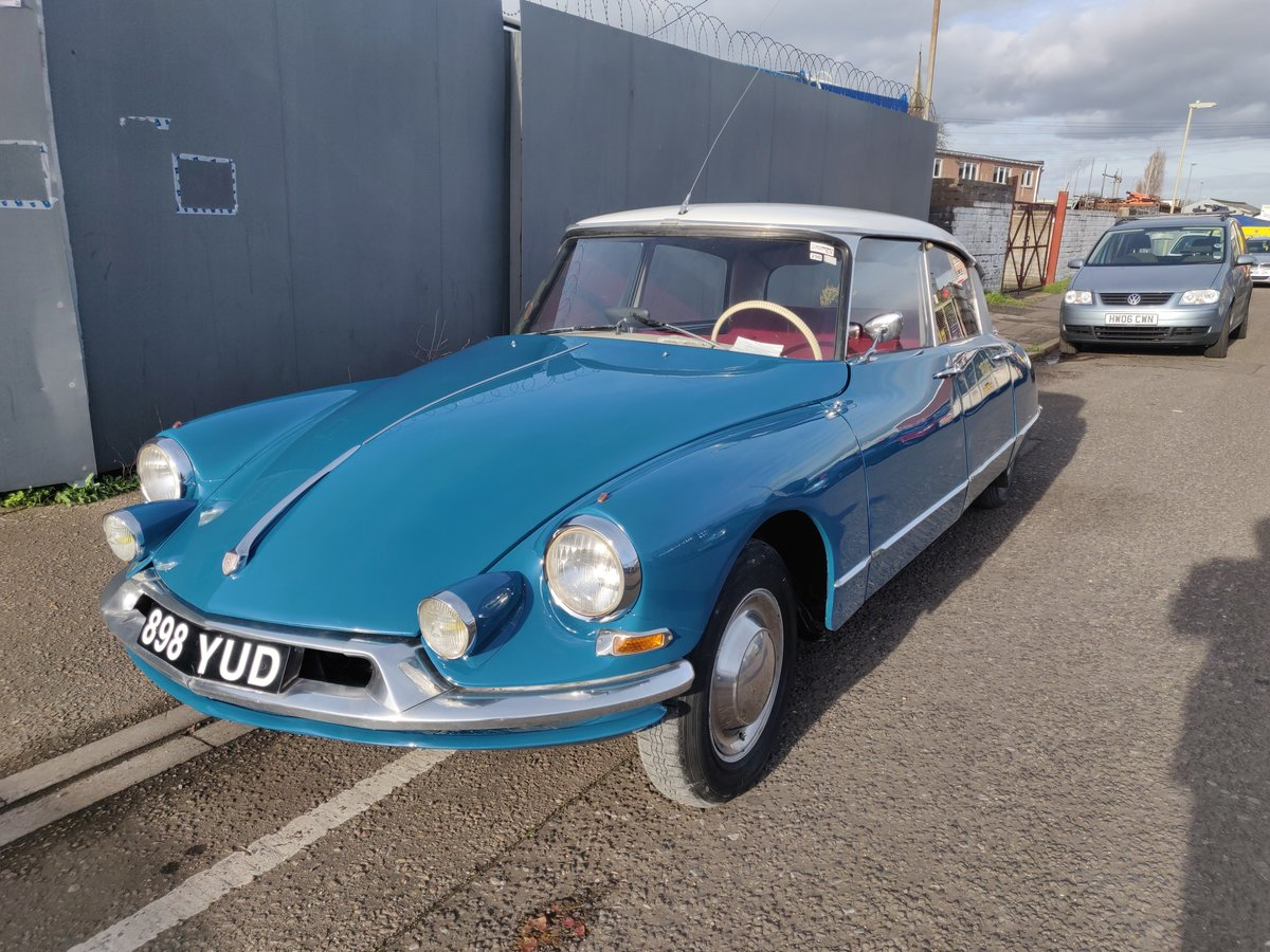 1962 Citroen ID19 - Restored and resprayed For Sale (picture 3 of 6)