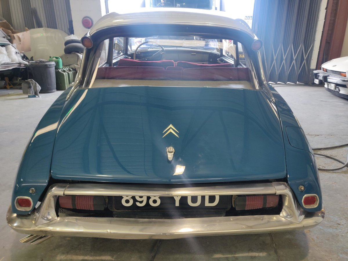 1962 Citroen ID19 - Restored and resprayed For Sale (picture 4 of 6)