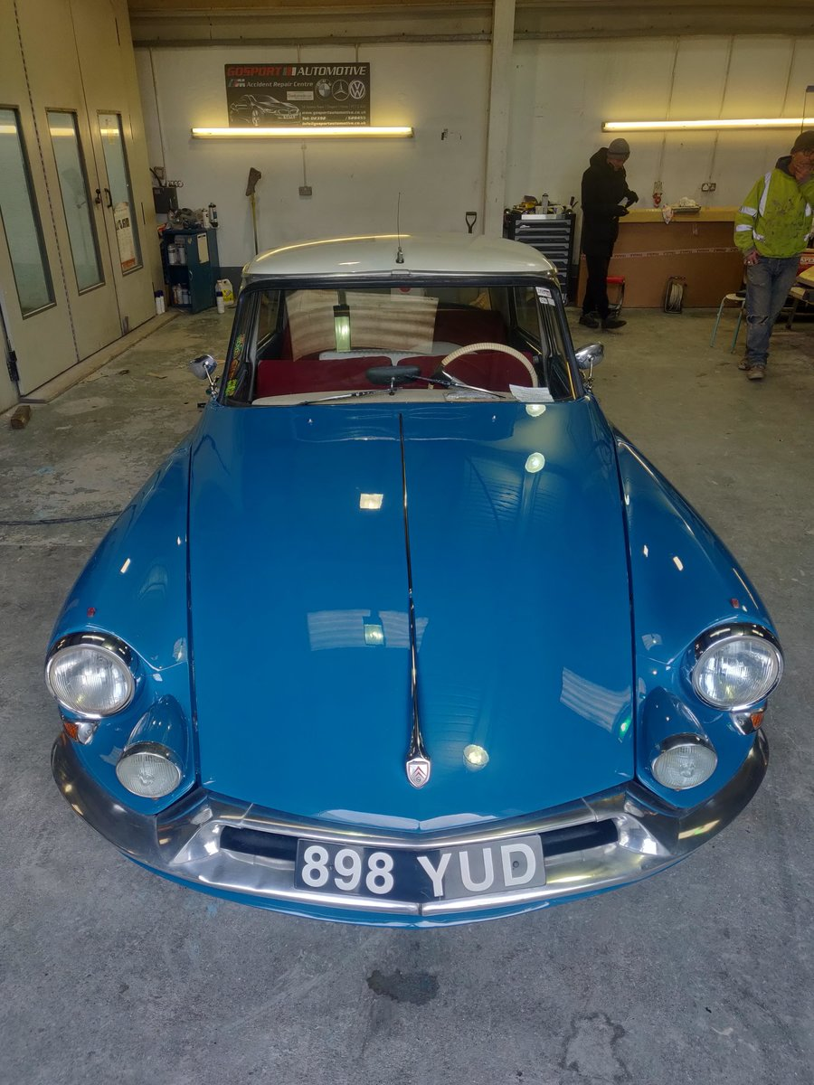 1962 Citroen ID19 - Restored and resprayed For Sale (picture 5 of 6)