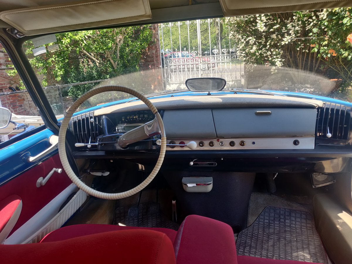 1962 Citroen ID19 - Restored and resprayed For Sale (picture 6 of 6)