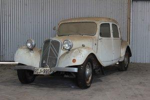 1947 Citroën Traction Avant 11CL Light Fifteen For Sale by Auction