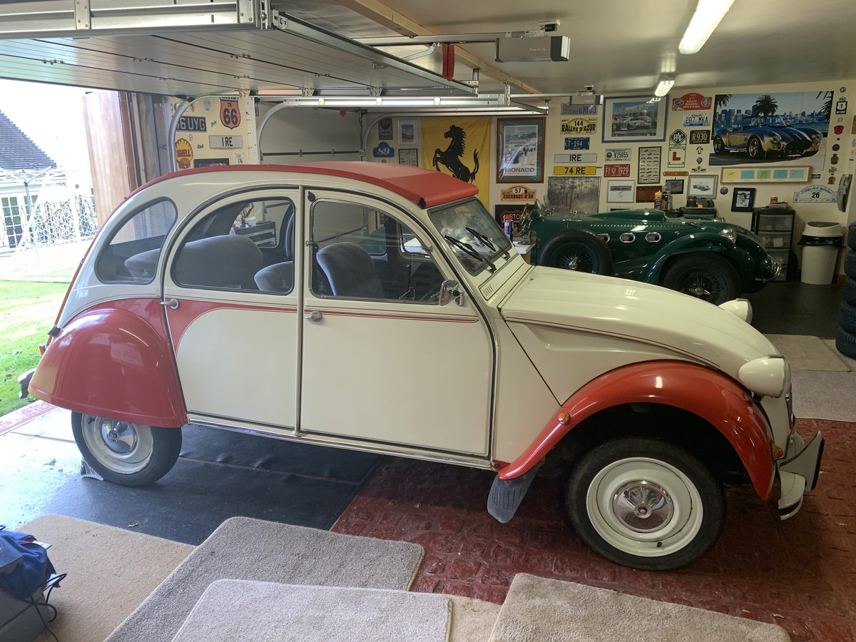 1990 Citroen 2cv6 - last day of production - rhd For Sale (picture 1 of 6)