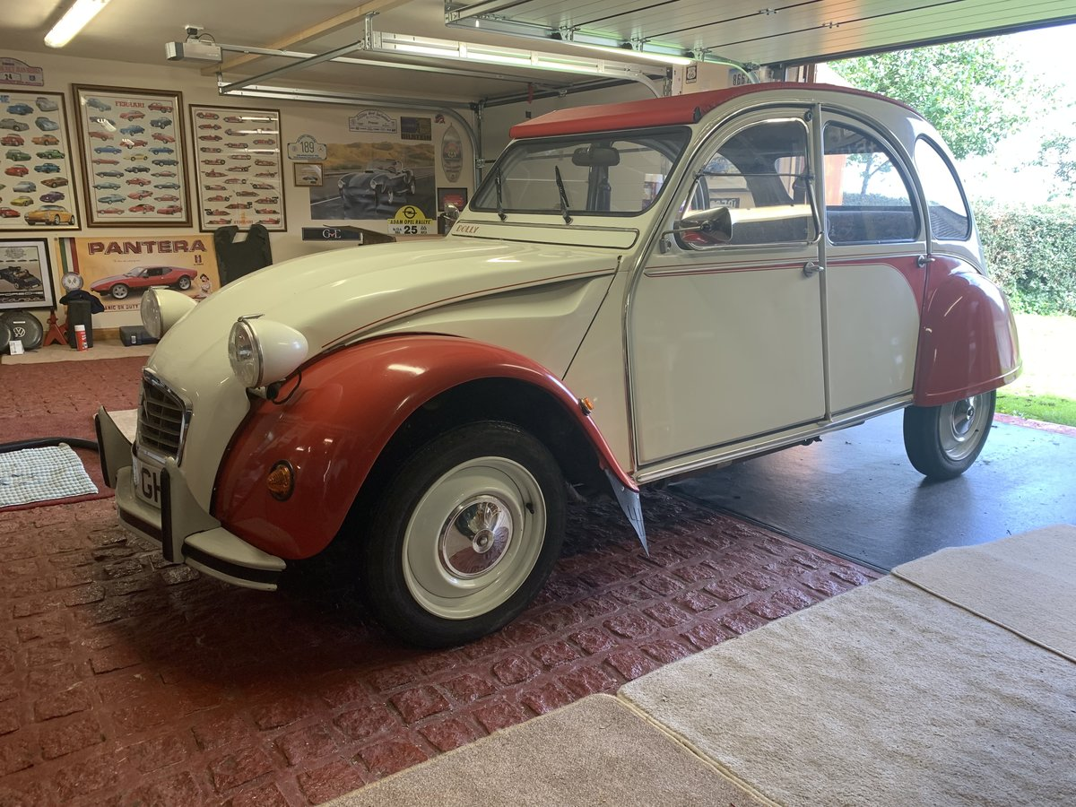 1990 Citroen 2cv6 - last day of production - rhd For Sale (picture 2 of 6)