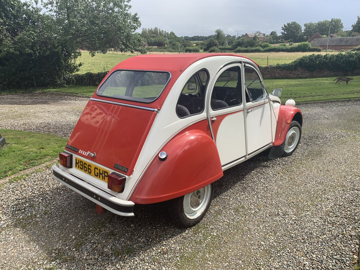 1990 Citroen 2cv6 - last day of production - rhd For Sale (picture 3 of 6)