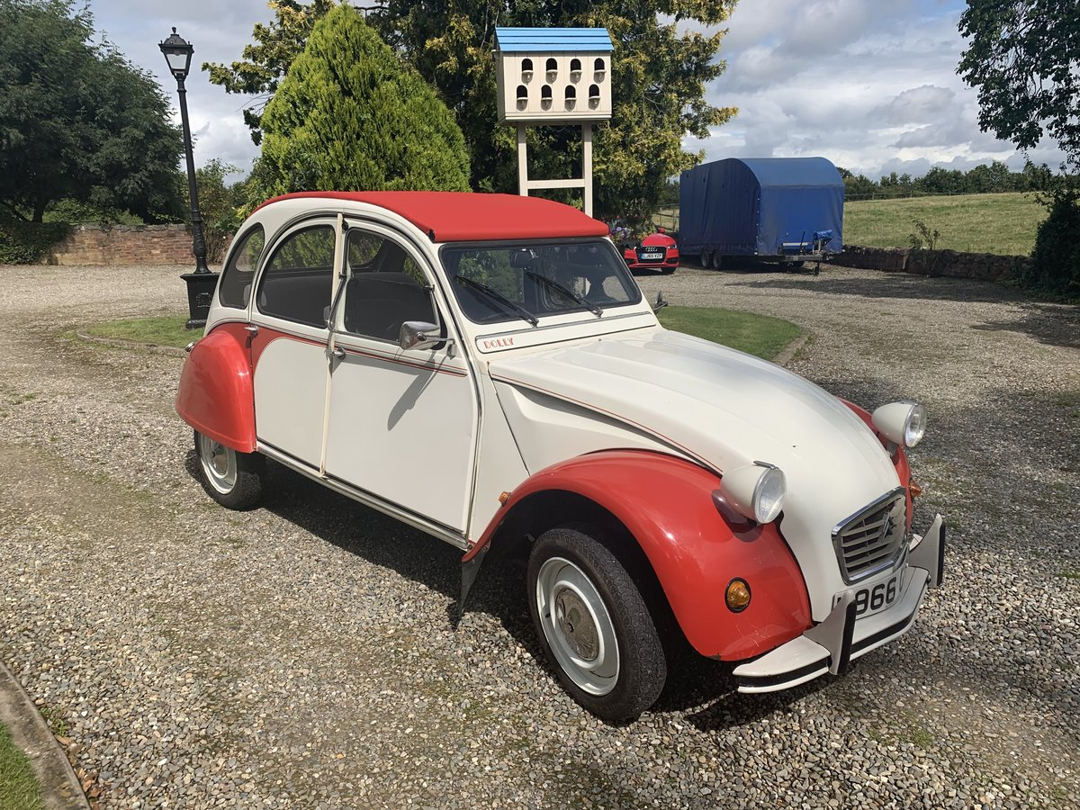 1990 Citroen 2cv6 - last day of production - rhd For Sale (picture 4 of 6)
