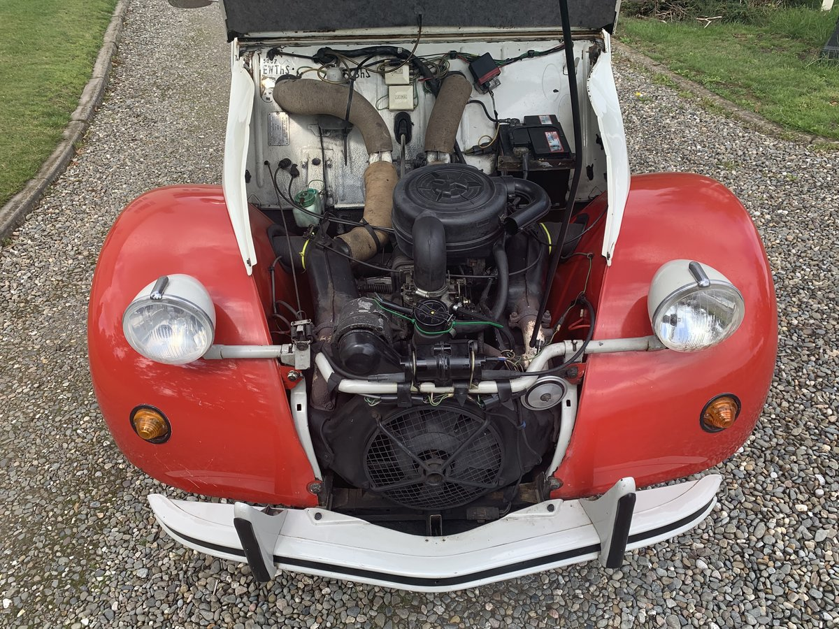1990 Citroen 2cv6 - last day of production - rhd For Sale (picture 5 of 6)